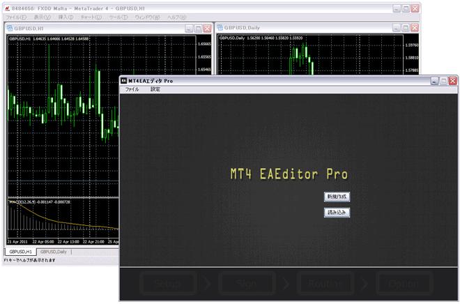 MT4 EA エディタ